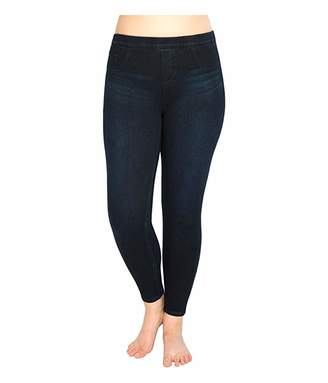 Spanx Plus Size Jean-ish Ankle Leggings