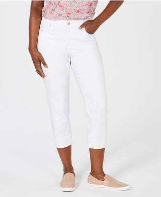 Style&Co. Style & Co Cuffed Capri Jeans