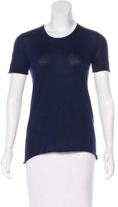 Chris Benz Knit Short Sleeve Top