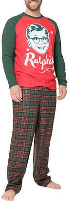 Asstd National Brand A Christmas Story Ralphie Family Pajama Set- Men's