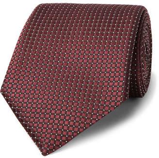 Ermenegildo Zegna 7cm Textured-Silk Tie