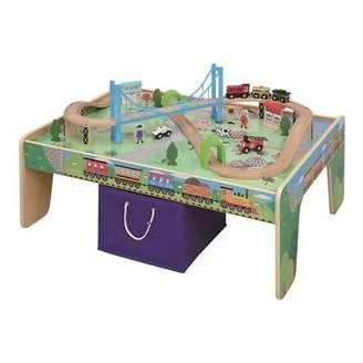 NEW Maxim Train Table 50-Piece Train Set