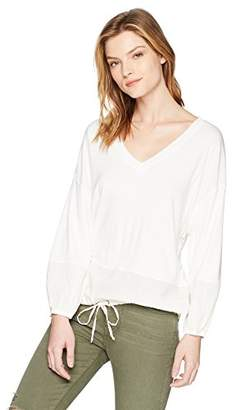 Splendid Women's V Neck Blousant Top
