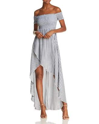 Show Me Your Mumu Willa Off-the-Shoulder Maxi Dress