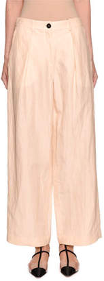 Emporio Armani Viscose/Linen Pants