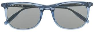 Montblanc clear frame sunglasses