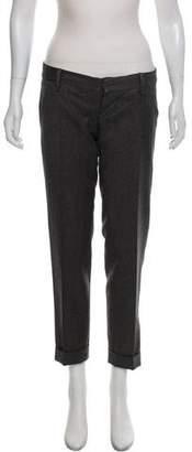 DSQUARED2 High-Rise Wool Pants