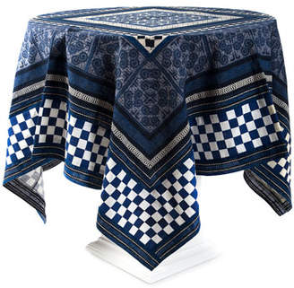 "Mackenzie Childs MacKenzie-Childs Santorini Square Tablecloth, 54"""
