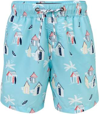 Snapper Rock Cabana Palm Swim Trunks