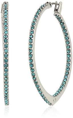 Vera Bradley Womens Sparkling Small Hoop Earrings