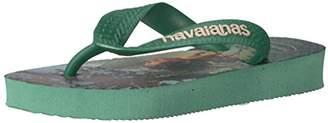 Havaianas Boys' Good Dinosaur Sandal Flip Flop