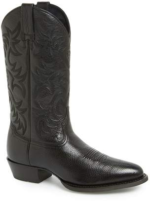 Ariat 'Heritage' Leather Cowboy R-Toe Boot