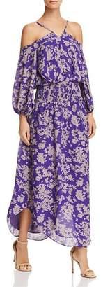 Ramy Brook Manuela Cold-Shoulder Maxi Dress