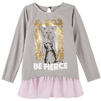 Andy & Evan Baby Girls Be Fierce Tunic Top $42 thestylecure.com