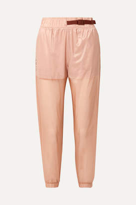 Nike Tech Pack Belted Shell Track Pants - Antique rose