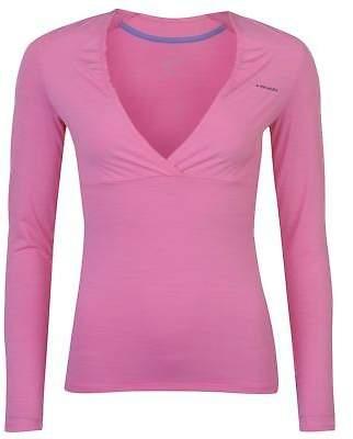 Head Womens Transition Shirt Long Sleeve Performance V Neck Lightweight Stretch