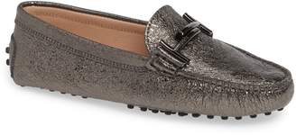 Tod's Gommini Double T Metallic Driving Moccasin