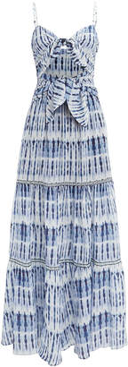Jonathan Simkhai Hawaiian Sarong Maxi Dress