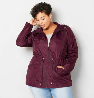 Avenue Solid Packable Anorak