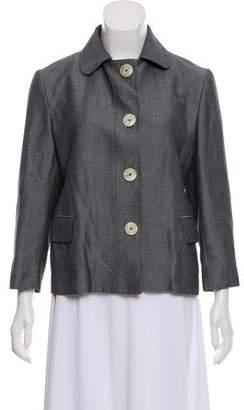 Kiton Casual Button- Up Jacket