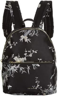 Ted Baker Floral Jacquard Backpack