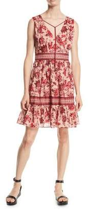 Kate Spade Sleeveless Paisley Blossom Dress