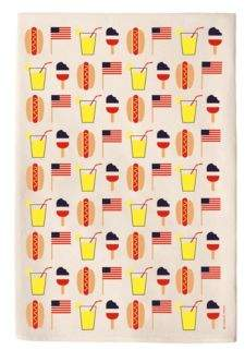 Coast & Cotton Hot Dog Hand Towel