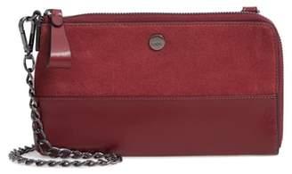 Lodis Los Angeles Nova Convertible Leather Crossbody Bag