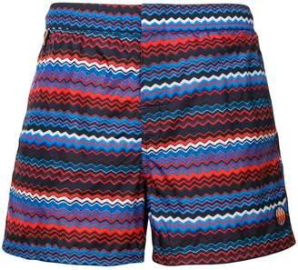 Missoni Mare striped swimming trunks