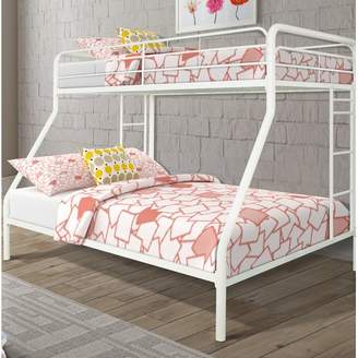 Zoomie Kids Glickman Twin Over Full Bunk Bed Bed Frame