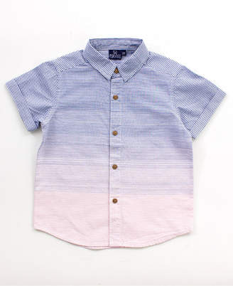Bear Camp Big Boy Printed Button Down Shirt