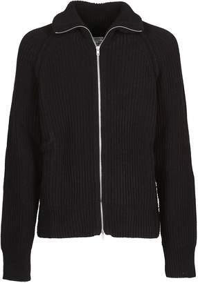 Maison Margiela Front Zip Closure Sweater