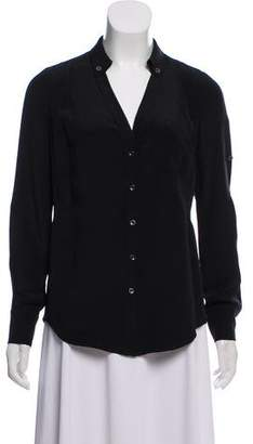 Magaschoni Long-Sleeve Button-Up top