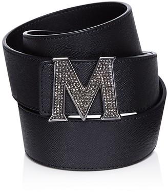 MCM Claus Jeweled Belt $330 thestylecure.com