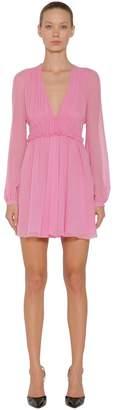 Giambattista Valli Silk Georgette Dress