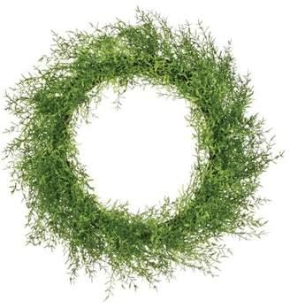 Gracie Oaks Feather Fern 23 Wreath