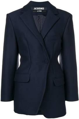 Jacquemus asymmetric blazer