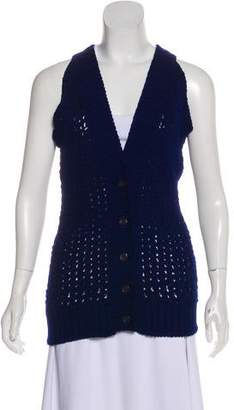 MM6 MAISON MARGIELA Wool Knit Vest