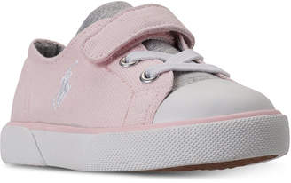 Polo Ralph Lauren Toddler Girls' Koni Casual Sneakers from Finish Line