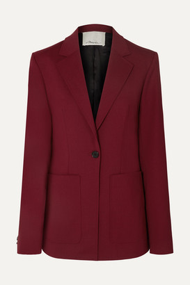 3.1 Phillip Lim Wool-blend Blazer - Burgundy