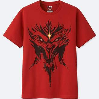 Uniqlo Blizzard Short-sleeve Graphic T-Shirt (diablo)