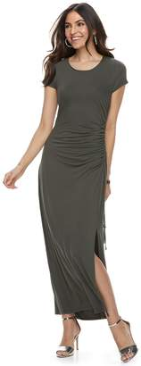 Apt. 9 Women's Ruched Maxi Dress