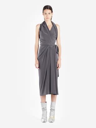 Rick Owens WOMEN'S DARK GREY LIMO DRESS