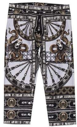Dolce & Gabbana Ornate Print Cropped Pants