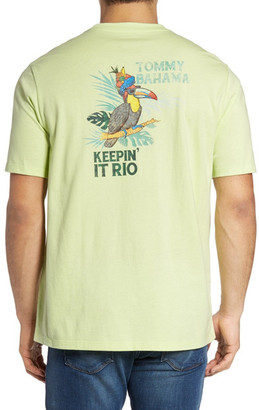 Tommy Bahama Keeping It Rio Graphic Tee (Big & Tall) $58 thestylecure.com