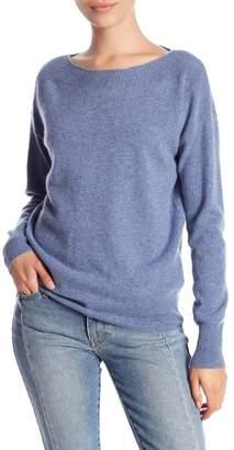 Minnie Rose Cashmere Boatneck Sweater