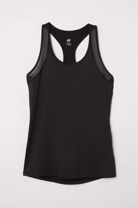 H&M Running Tank Top - Black