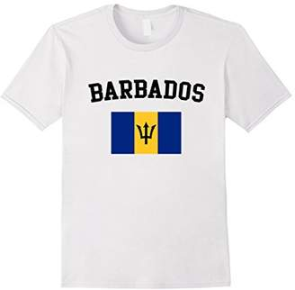 Barbadian Pride Flag T-shirt Barbados Shirt Great Gift Tee