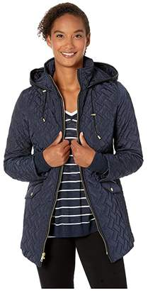 8bd5b674b Quilted Barn Jacket Women - ShopStyle