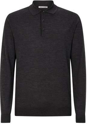 Privee Salle Wool Polo Shirt